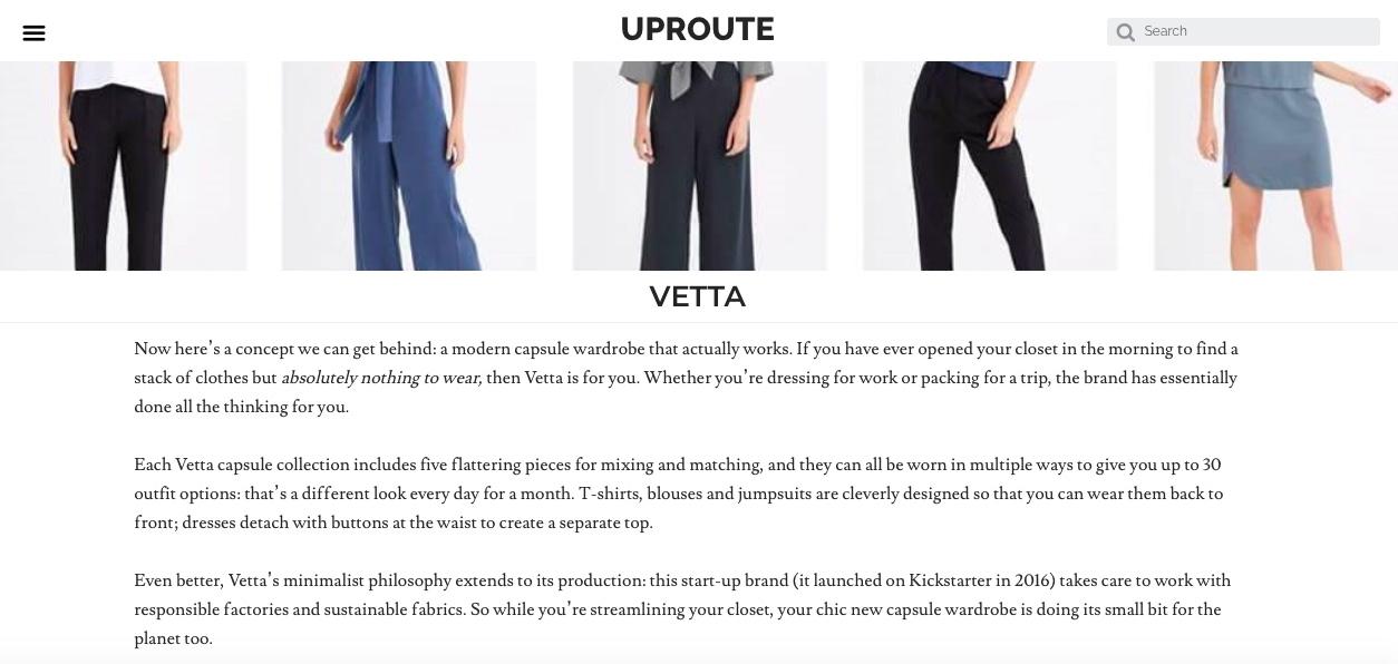 Vetta Uproute